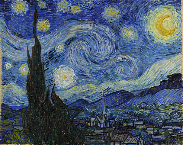 `Starry Night` by Vincent van Gogh